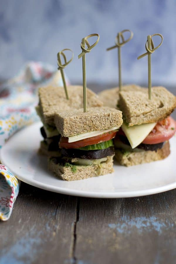 Bombay Veggie Sandwich