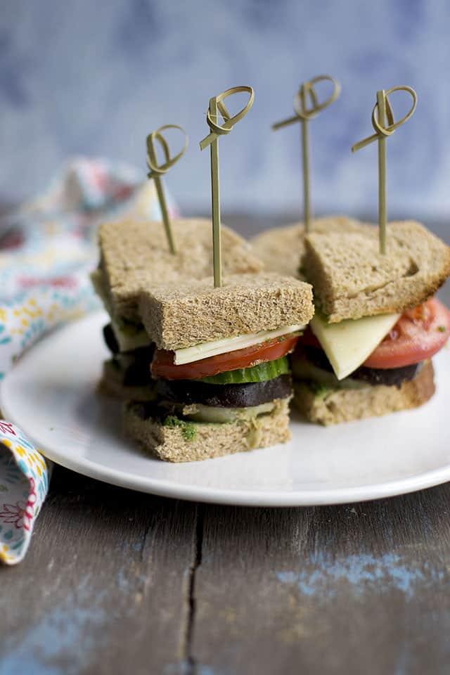 Bombay Veggie Sandwich Recipe