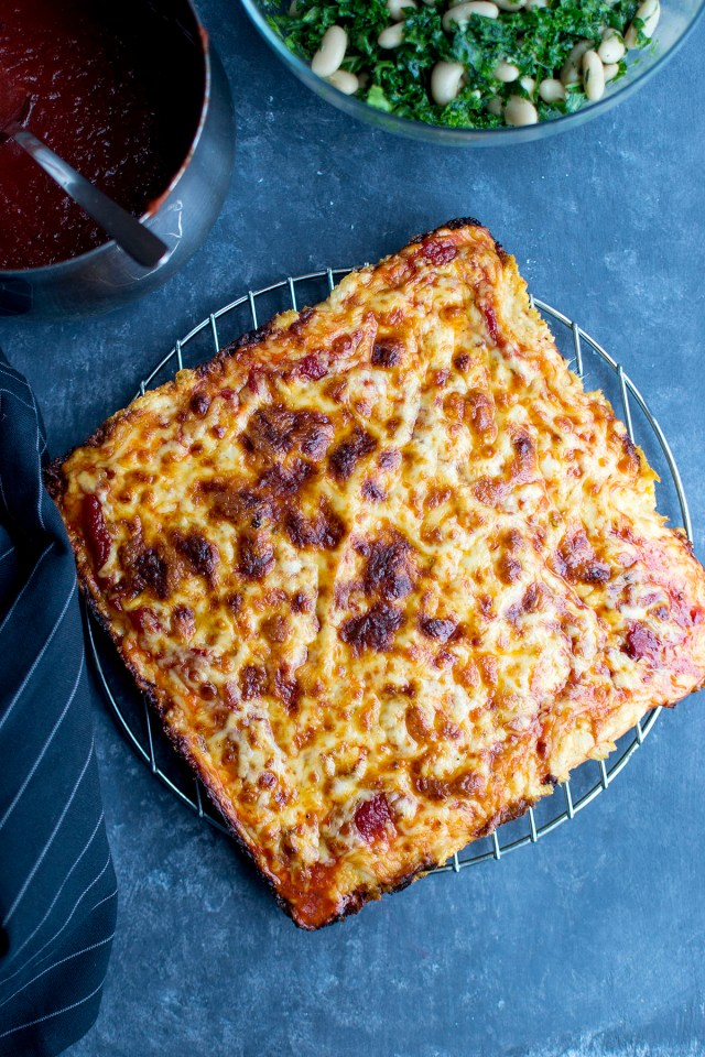 Detroit Style Cheese Pizza Recipe