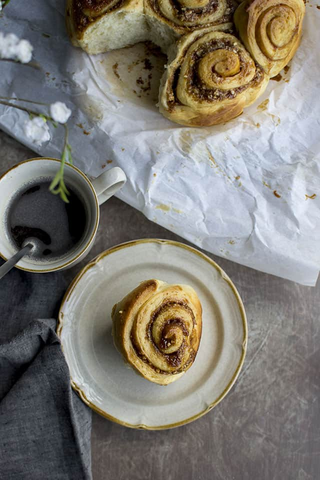 Rolls with Dulche de Leche