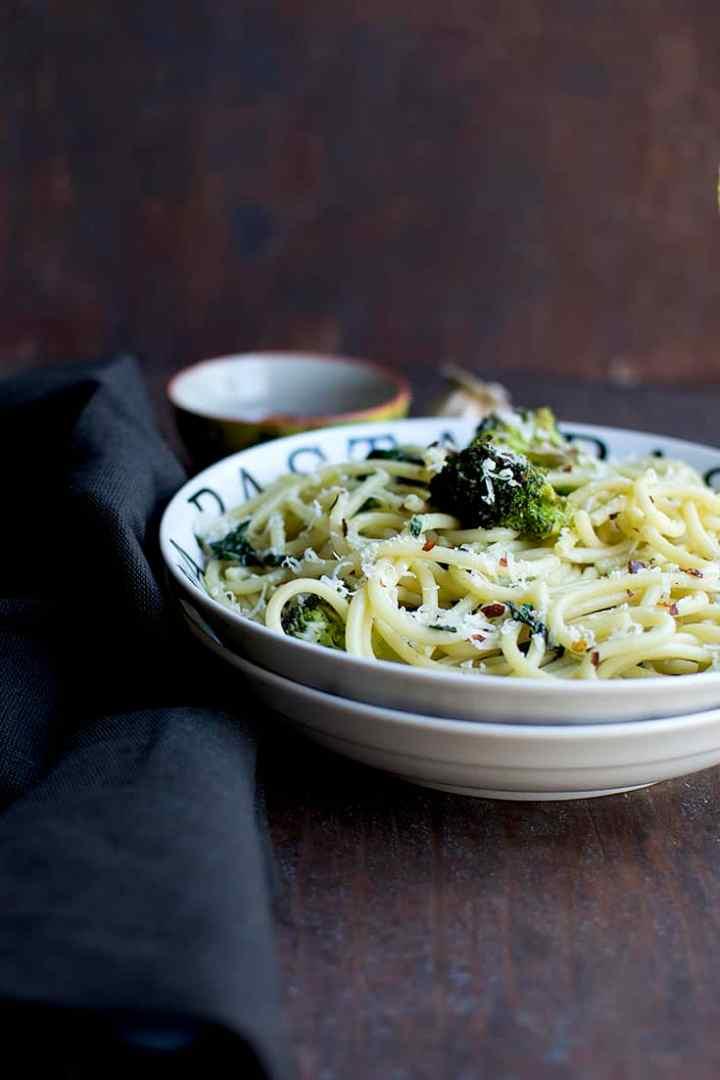 Kale & Broccoli Aglio e Olio