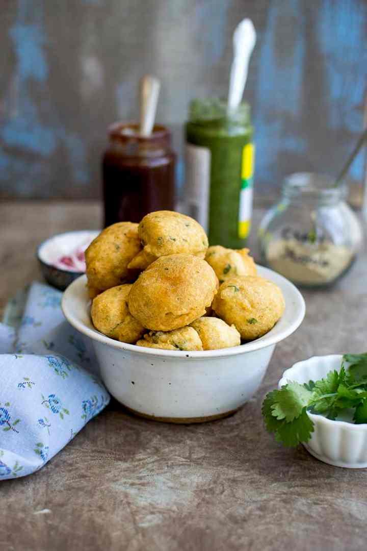 Delhi Street Food Ram Ladoo