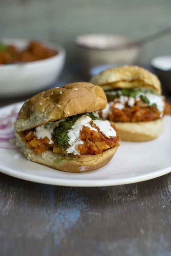 Vegan Indian Style Sloppy Joes Recipe