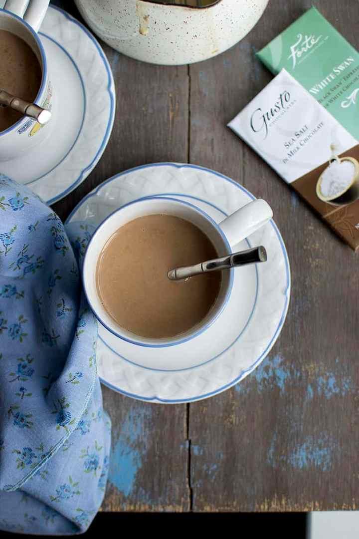 Hot Chocolate Salted Mocha