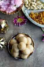 Sooji Laddoo (Semolina Laddu Recipe)