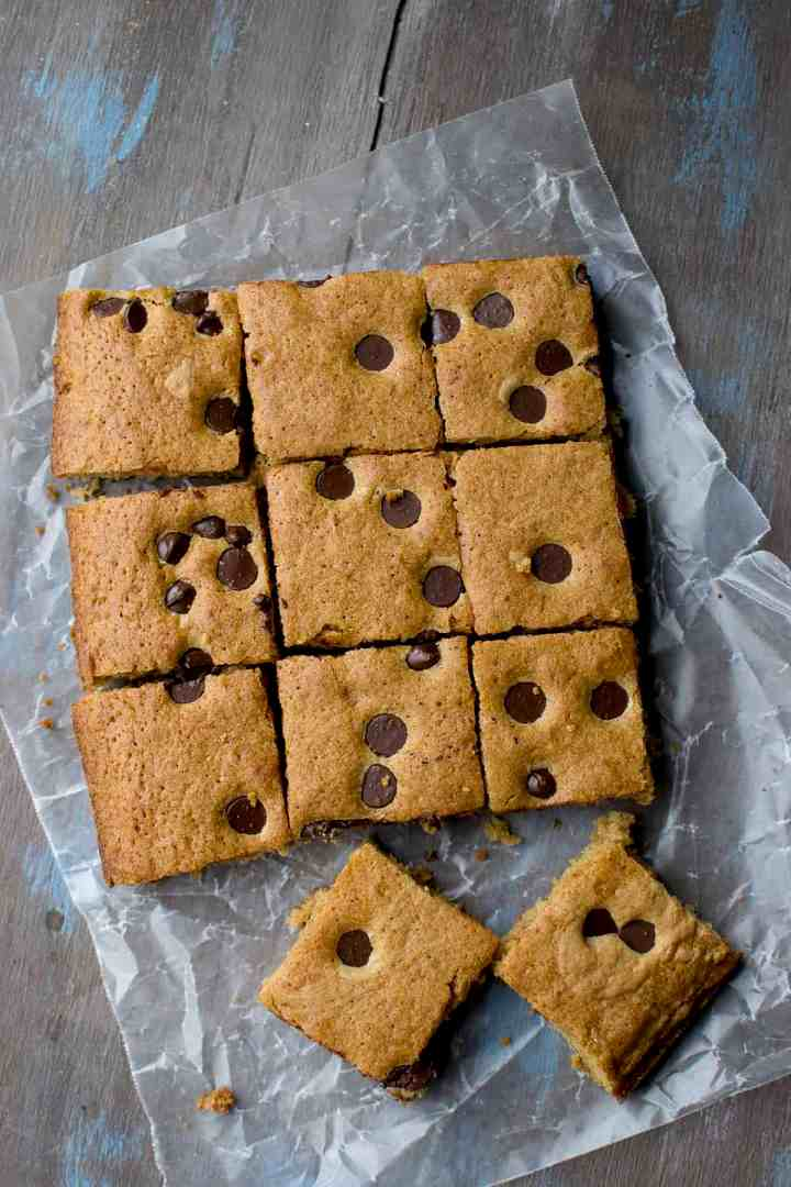 Blondies with Brown Butter