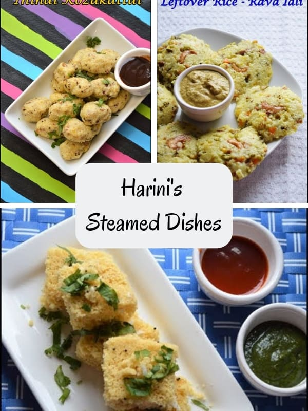 Harini's Steamed Dishes