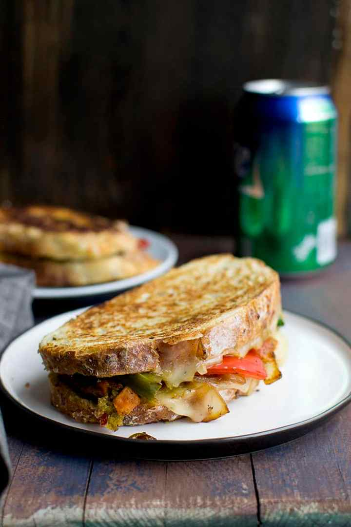 Mexican Style Grilled Cheese