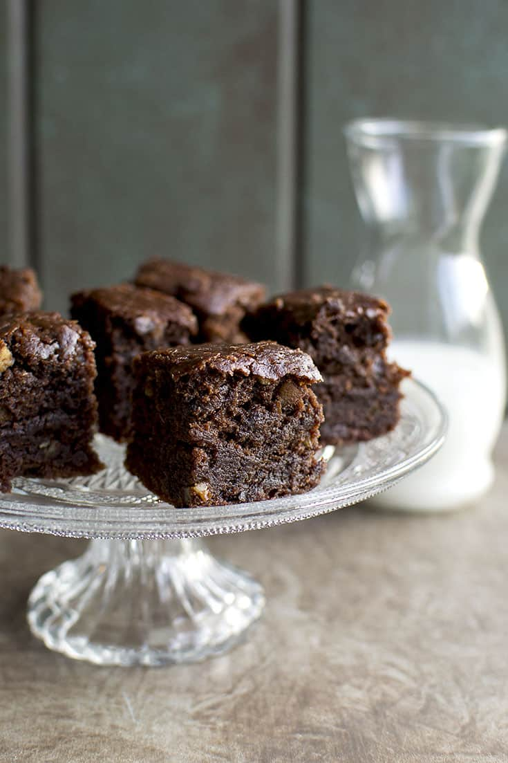 Vegan Double Chocolate Brownies Recipe