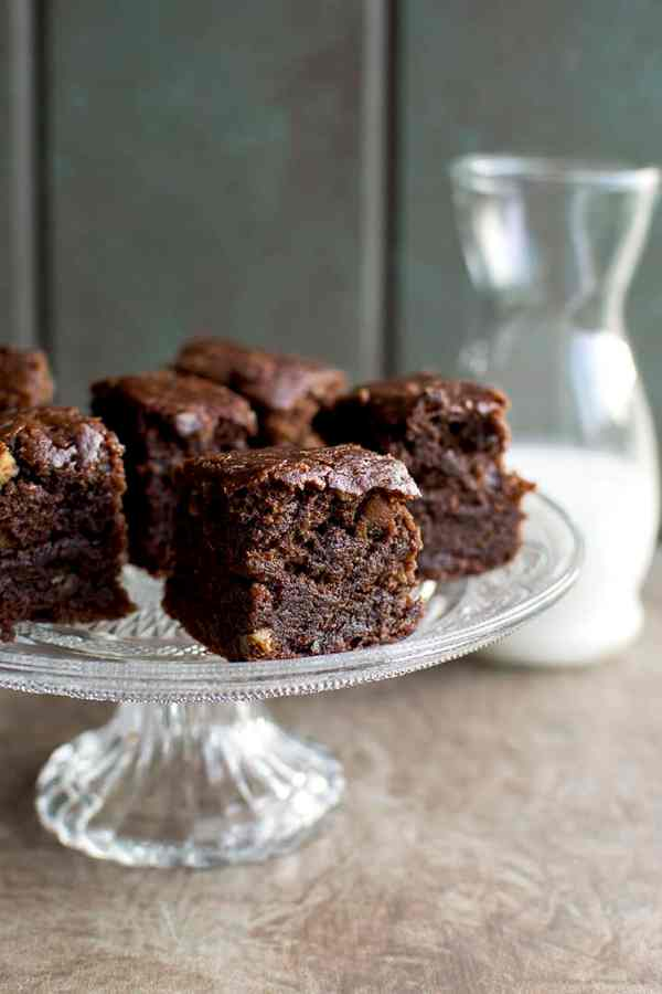 Vegan Double Chocolate Brownies