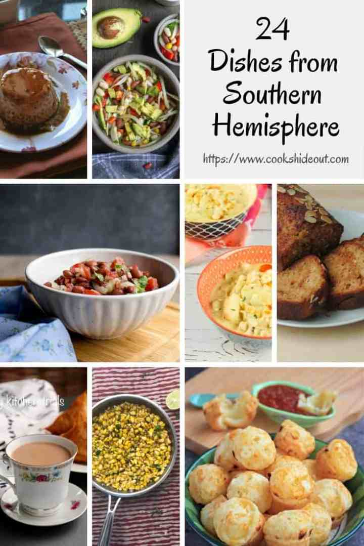 Dishes from Southern Hemisphere