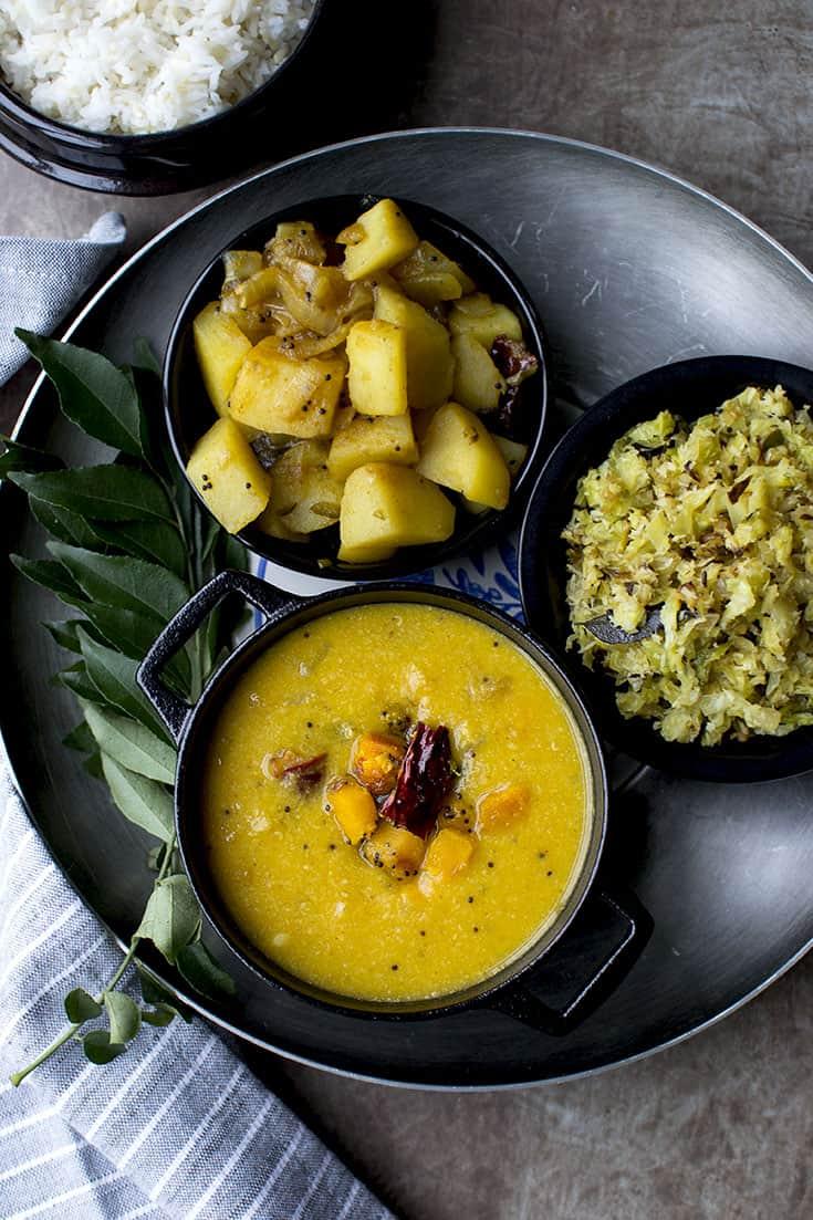 Karnataka Style Pumpkin Sambar