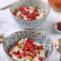 Cranberry pistachio Bircher muesli - a Pret-a-Manger fakeaway