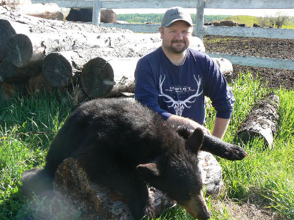 black bear hunt - image