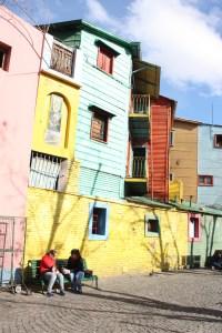 Colorful buildings in La Boca