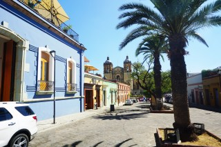 Walking the beautiful Spanish colonial streets