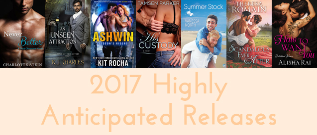 2017 Highly Anticipated Releases