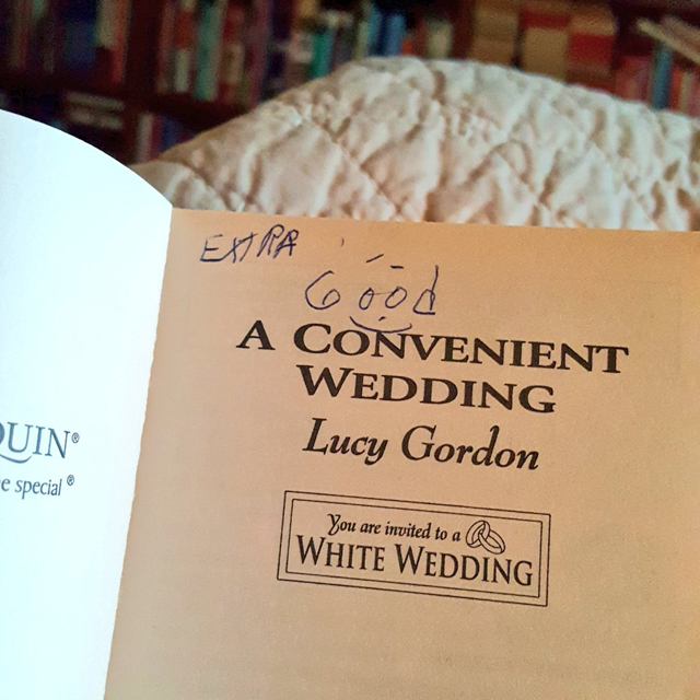 A Convenient Wedding by Lucy Gordon