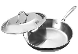 Cooks Standard NC-00239 12-Inch Stainless Steel Fry Pan