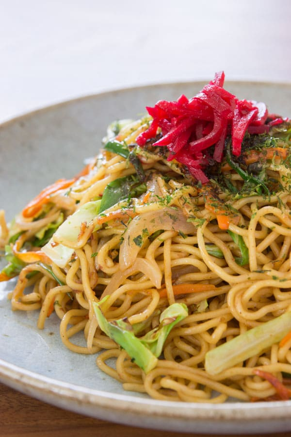 Yakisoba Noodles - 30 minute recipes