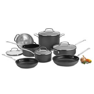 Cuisinart 66-11 Nonstick 11-Piece Cookware Set