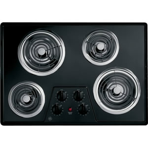 30 Coil Electric Cooktop With Upfront Controls