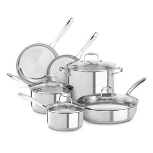 KitchenAid KCSS10LS,10-Piece