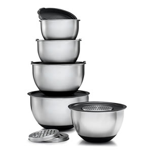 Sagler Set of 5 Mixing Bowls Review
