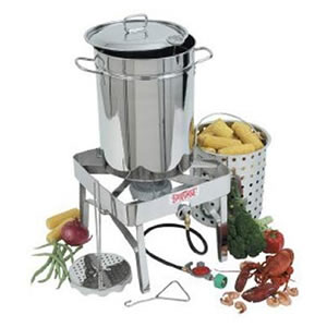Bayou Classic 1195 Turkey-Fryer Kit with Burner