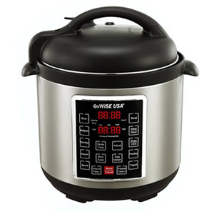 GoWISE USA GW22623 4th-Generation Electric Pressure Cooker 8 QT