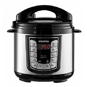 Gourmia GPC400 Electric Digital Multifunction Pressure Cooker