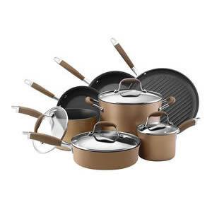 Anolon Advanced Bronze Hard Anodized 11-Piece Cookware Set Review
