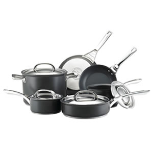 Circulon Infinite Hard Anodized 10-Piece Nonstick Cookware Set Review