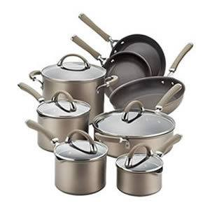 Circulon Premier 13-piece Hard-anodized Cookware Set