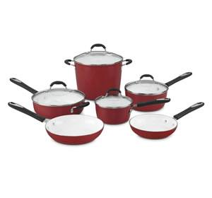 Cuisinart 59-10R Elements 10-Piece Cookware Set Review