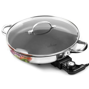 Electric Skillet By Culina 18/10 Stainless Steel Review
