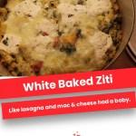 White Baked Ziti