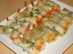 Herb and Feta Phyllo Wrapped Shrimp