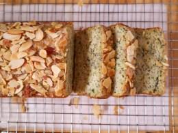 Lemon Almond Zucchini Bread