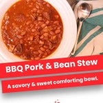 BBQ Pork & Bean Stew