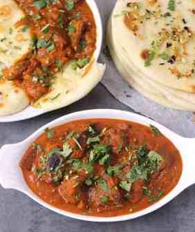 Tandoori Roti + Chicken Tikka Butter Masala