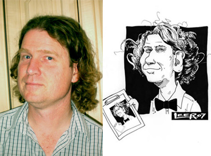 Caricatures from photos by Jon