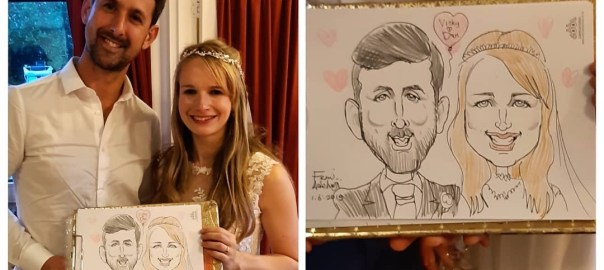 Wedding Caricaturist UK