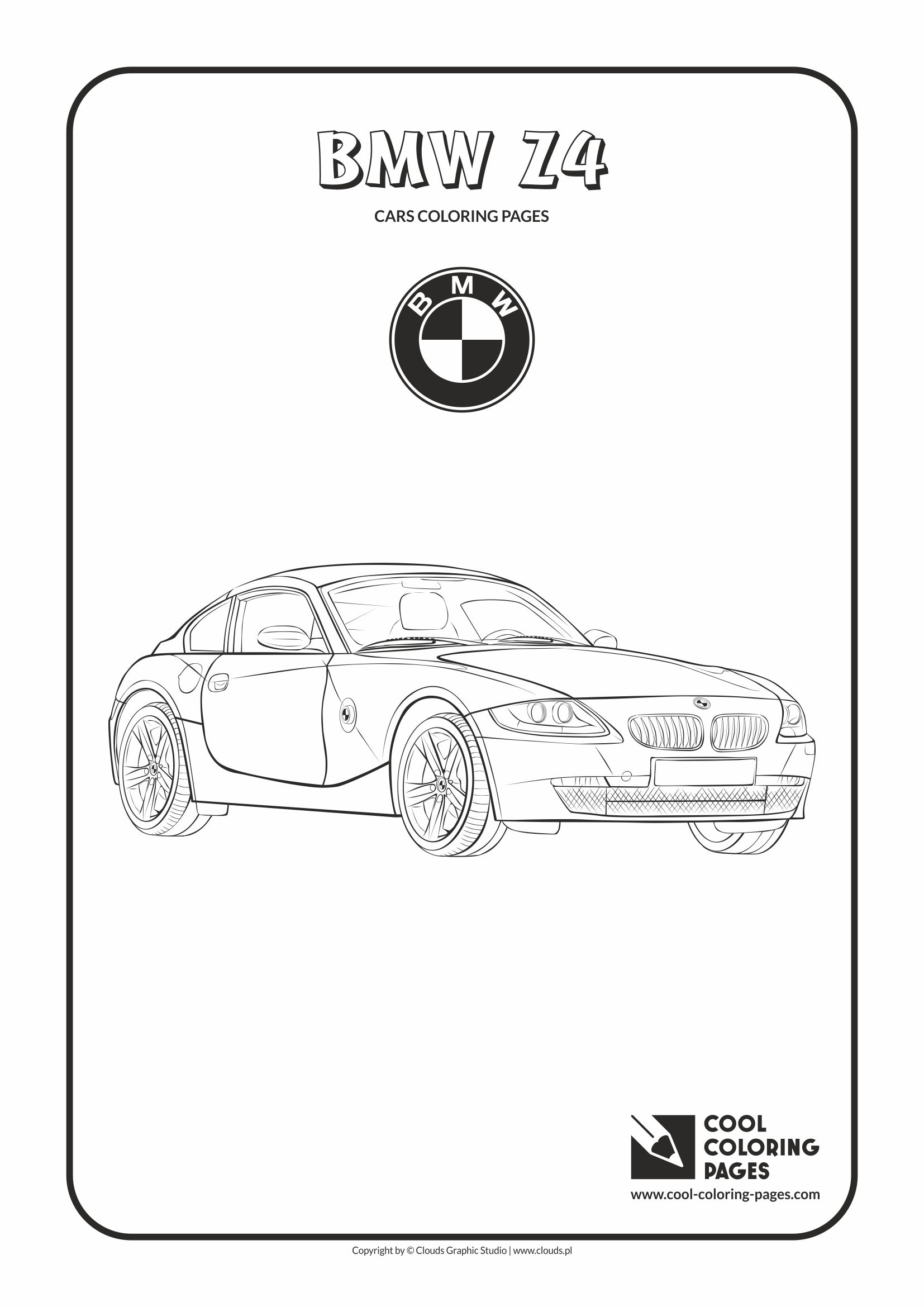 Cool Coloring Pages Cars Coloring Pages