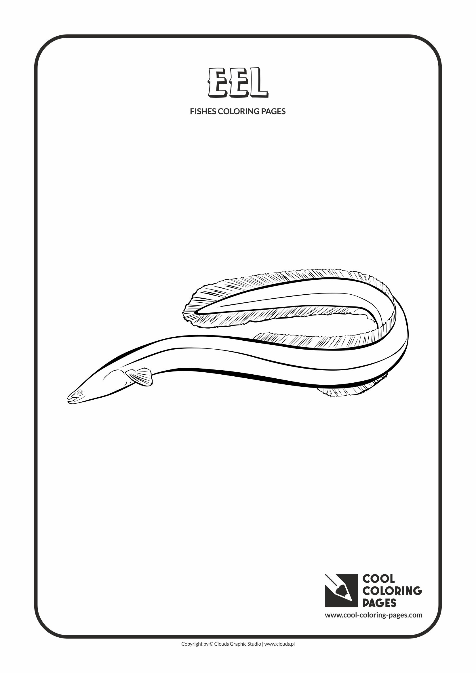 eel coloring page electric free printable 1000 images about fun