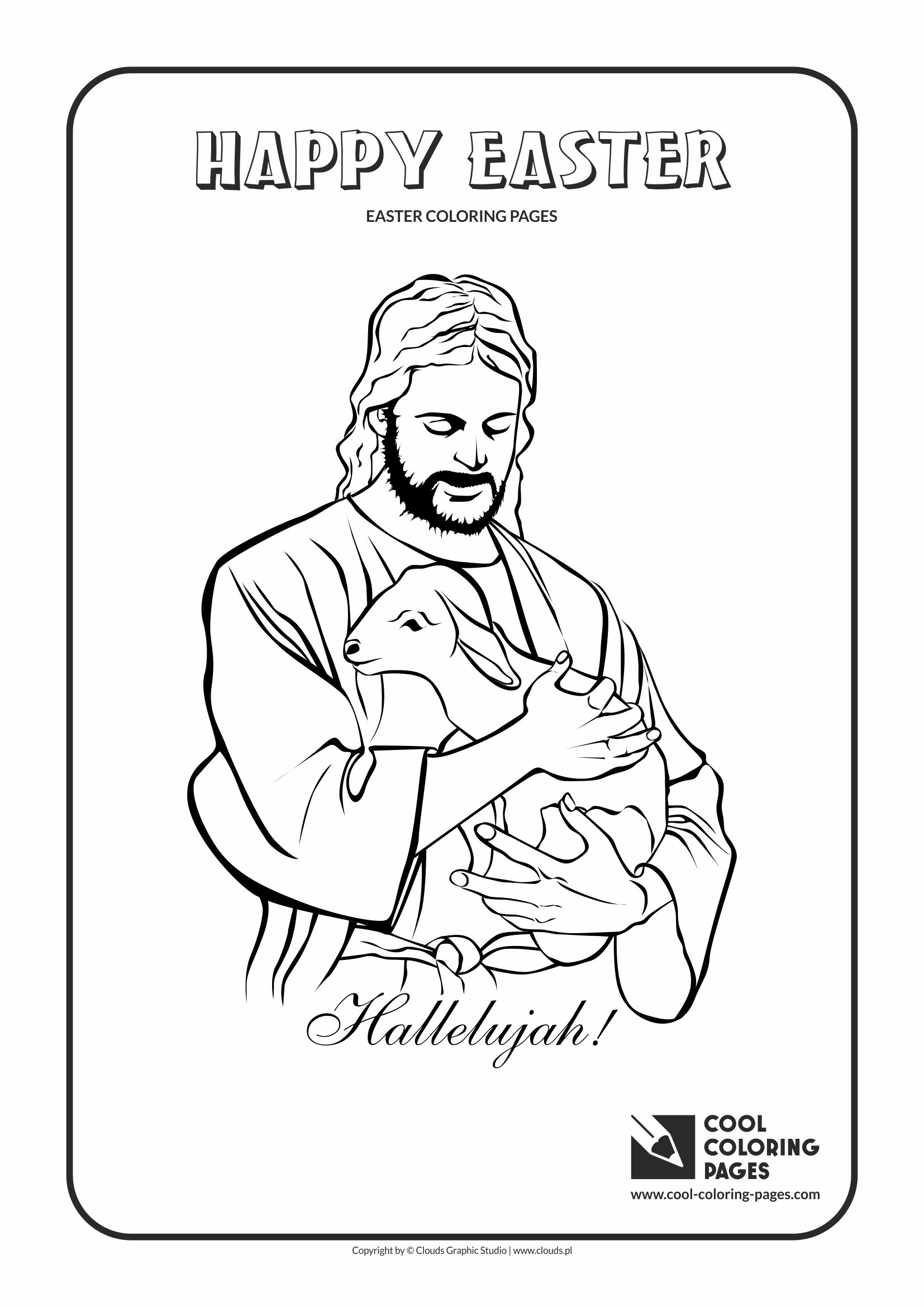 jesus christ and lamb coloring page cool coloring pages