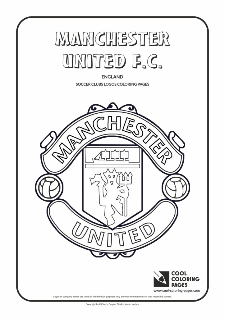 Cool Coloring Pages Manchester United FC Logo Coloring