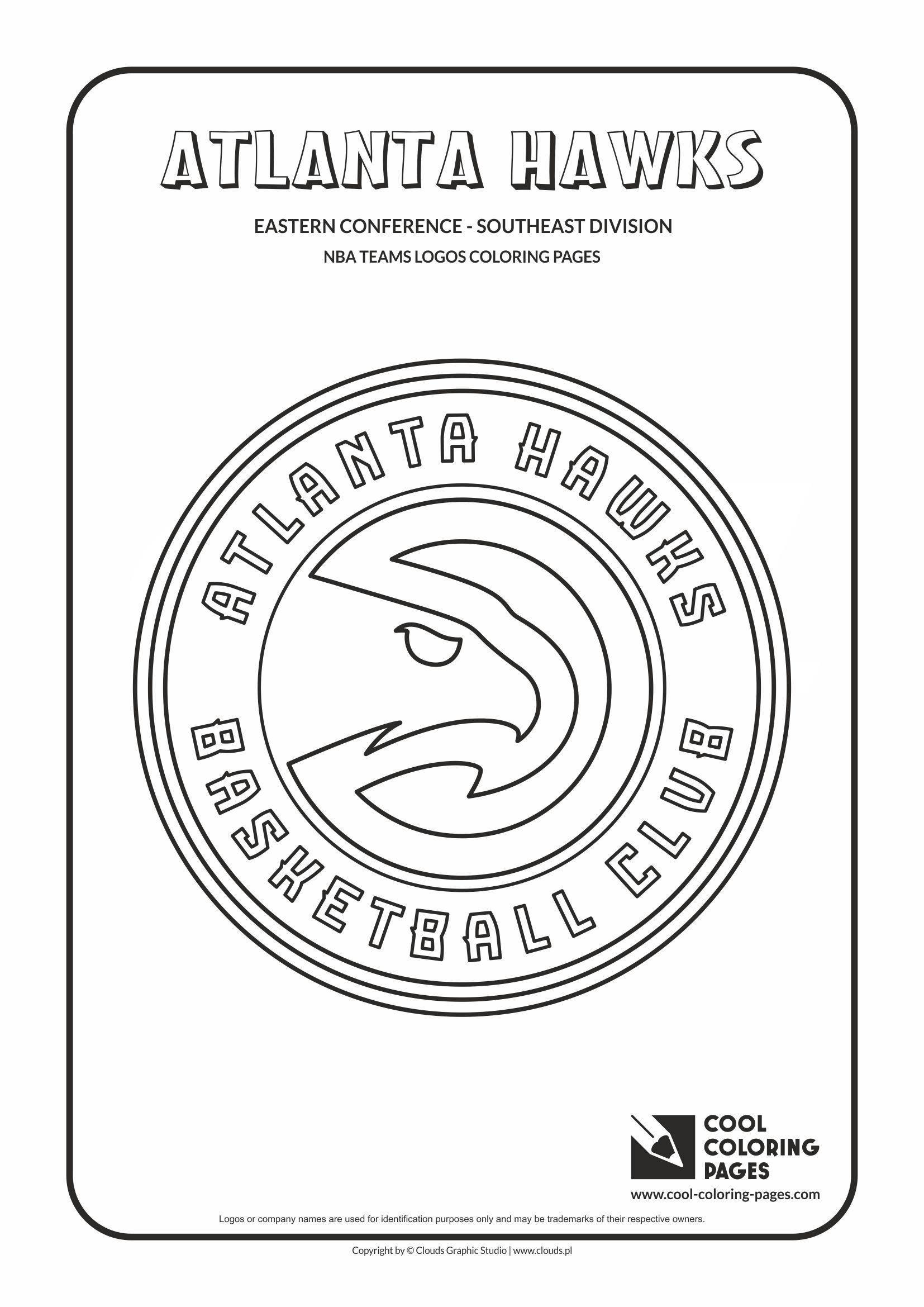 Atlanta Hawks Coloring Pages