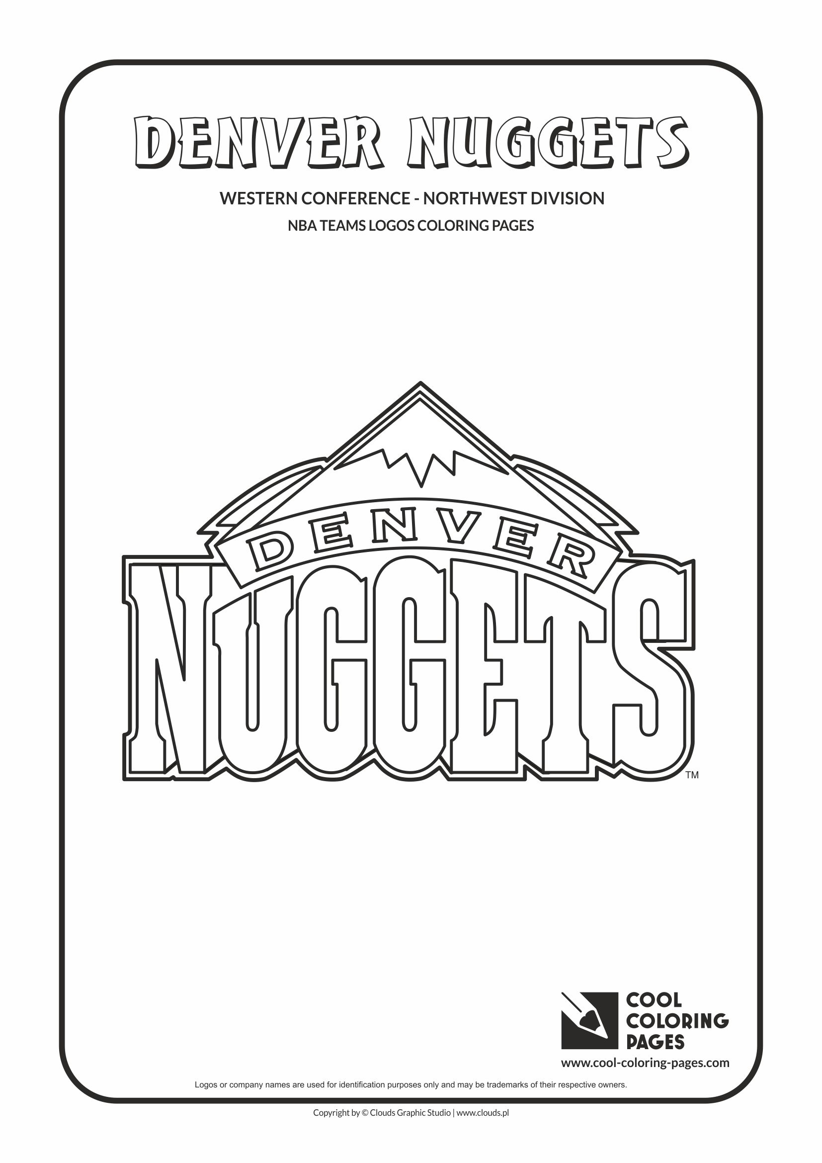 Denver Nuggets Coloring Pages