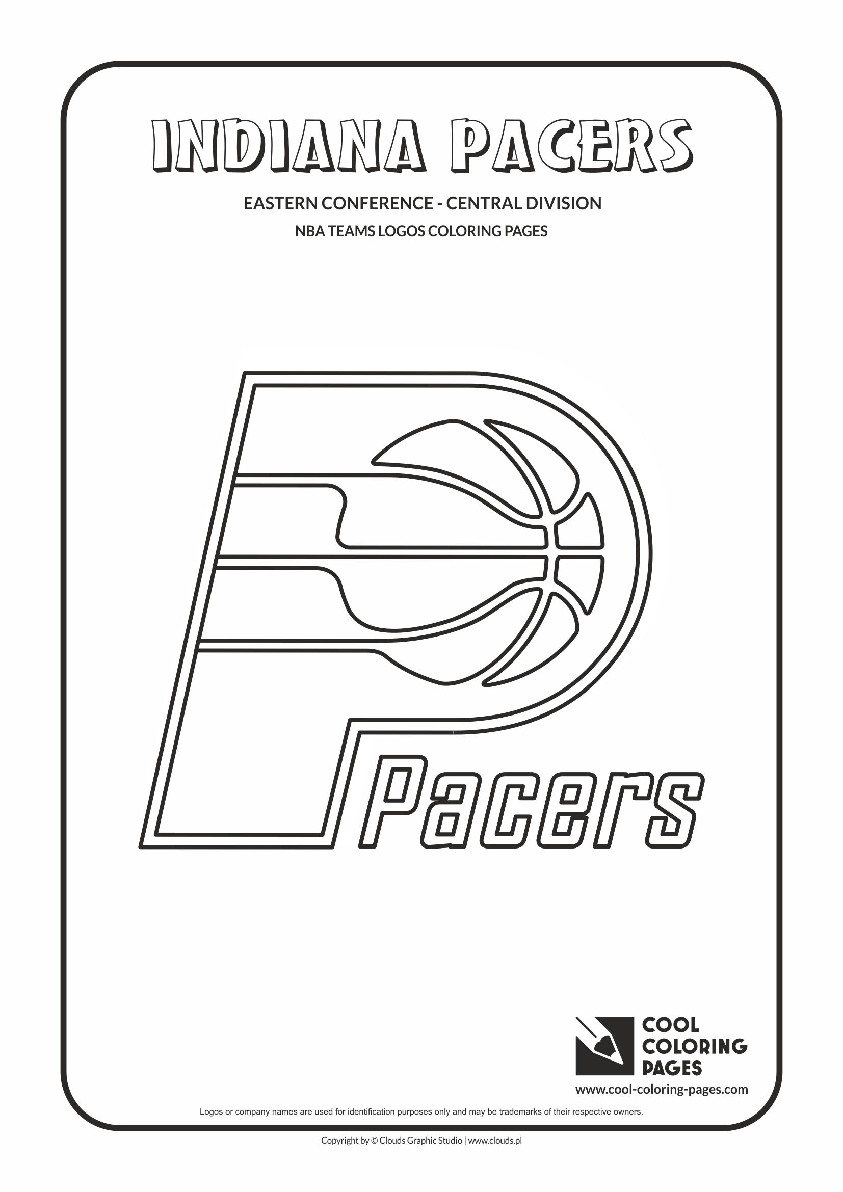 Indiana Pacers Coloring Pages